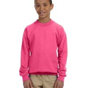 Heavy Blend™ Youth 8 oz., 50/50 Fleece Crew