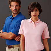 UltraClub® Adult Tall Classic Piqué Polo