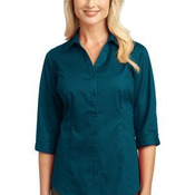 Ladies 3/4 Sleeve Blouse