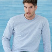 Ultra Cotton™ Long Sleeve T-Shirt with a Pocket