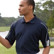 Golf ClimaLite® Three-Stripe Cuff Polo