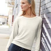 Ladies' Eco-Jersey Slouchy Pullover