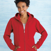 Heavy Blend™ Missy Fit Full-Zip Hooded Sweatshirt