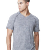 Triblend Short Sleeve V-Neck T-Shirt