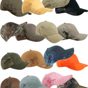 Dri-Duck Wildlife Series Brushed Cotton Caps