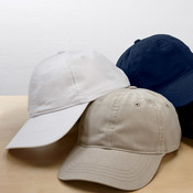UltraClub® Classic Cut Heavy Brushed Cotton Twill Unconstructed Cap