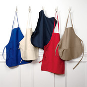 UltraClub® Two-Pocket Cobbler Apron