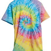 Adult Tie-Dyed Cotton Tee
