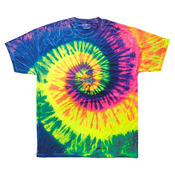 Youth Tie-Dyed Cotton Tee