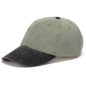 Cotton Twill Two-Tone Stone Optimum Cap