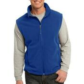Value Fleece Vest Custom Lettering