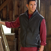 UltraClub® Adult Iceberg Fleece Full-Zip Vest