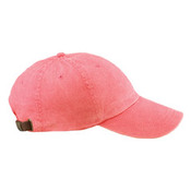 6-Panel Low-Profile Washed Pigment-Dyed Cap