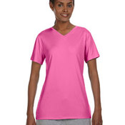 Ladies' 4 oz. Cool Dri® V-Neck T-Shirt