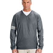 Men's ClimaLite® Colorblock V-Neck Wind Shirt