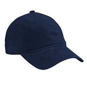 Heavy Brushed Twill Unstructured Cap