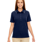 Ladies' Edry™ Needle Out Interlock Polo