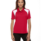 Ladies' Eperformance™ Color-Block Textured Polo
