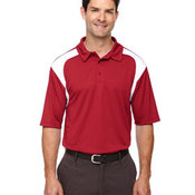 Men's Eperformance™ Color-Block Textured Polo