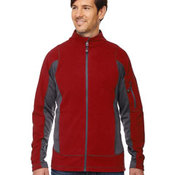 Generate Men's Textured Fleece Jackets