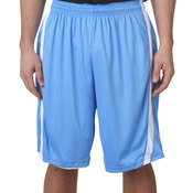 "B-Slam Reversible Polyester Basketball 9"" Shorts"