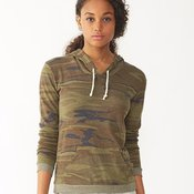Ladies' Eco-Jersey Classic Hooded Pullover T-Shirt