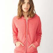 Ladies' Eco-Fleece Adrian Full-Zip Hooded Sweatshirt