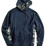 Digital Camo Colorblock Hooded Performance Sweatshirt