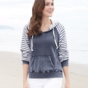 Ladies' Angel Fleece Sanded Piper Pullover