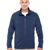Men's Fairfield Herringbone Full-Zip Jacket