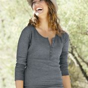 Ladies' Thermal Henley