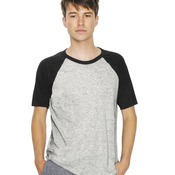 Unisex Poly-Cotton Short Sleeve Raglan T-Shirt
