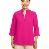 Ladies' Perfect Fit™  3/4-Sleeve Crepe Tunic