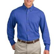 Long Sleeve Twill Shirt