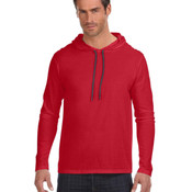 Anvil Adult Lightweight Long-Sleeve Hooded T-Shirt