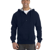 9.7 oz., 90/10 Cotton Max Quarter-Zip Hood