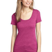 ™ Ladies Textured Scoop Tee