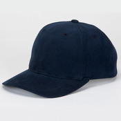 Solid Brushed Cotton Twill Cap