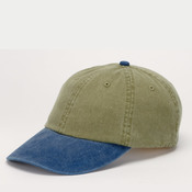 Cotton Twill Two-Tone Khaki Optimum Cap