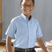 Boys' Short Sleeve Oxford Shirt