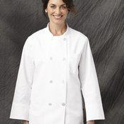 Eight Pearl Button Chef Coat