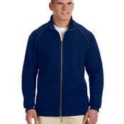 Premium Cotton™ 9 oz. Ringspun Fleece Full-Zip Jacket