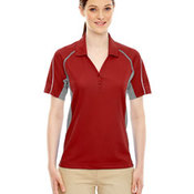 Parallel Ladies' Snag Protection Polo With Piping