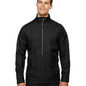 Men's Textured City Soft Shell Jacket