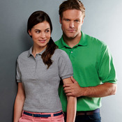 Ladies' Jersey Polo with SpotShield
