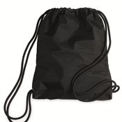 Microfiber Performance Drawstring Backpack