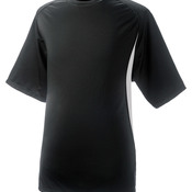 Adult Cooling Performance Color Block Short Sleeve Crew