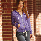Ladies' Blended Angel Sanded Hooded Fleece