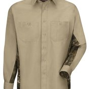 Workwear Long Sleeve Camo Shirt
