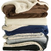 Alpine Fleece Micro Mink Sherpa Blanket